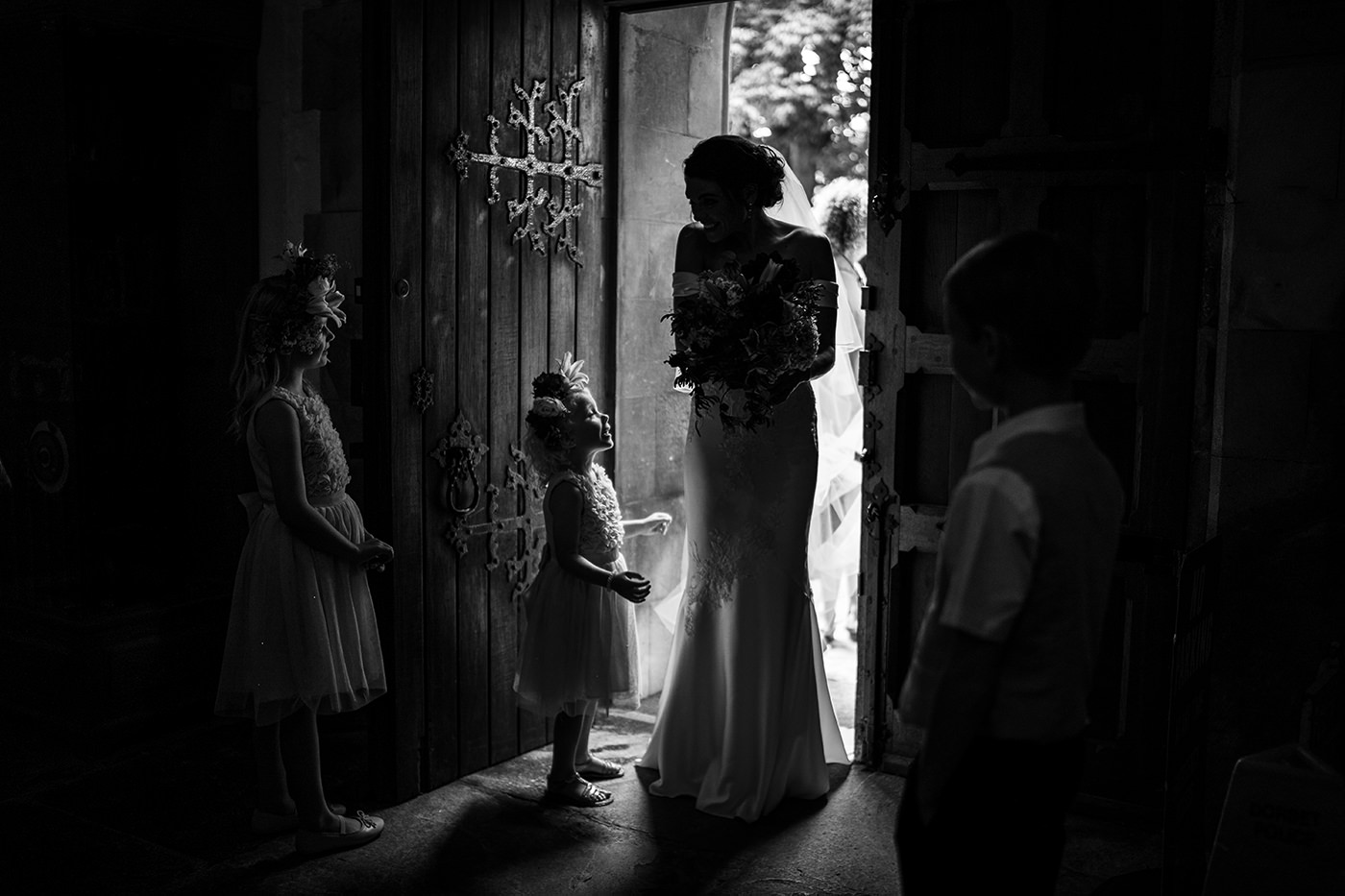 Bride Silhoette Reportage Photography London