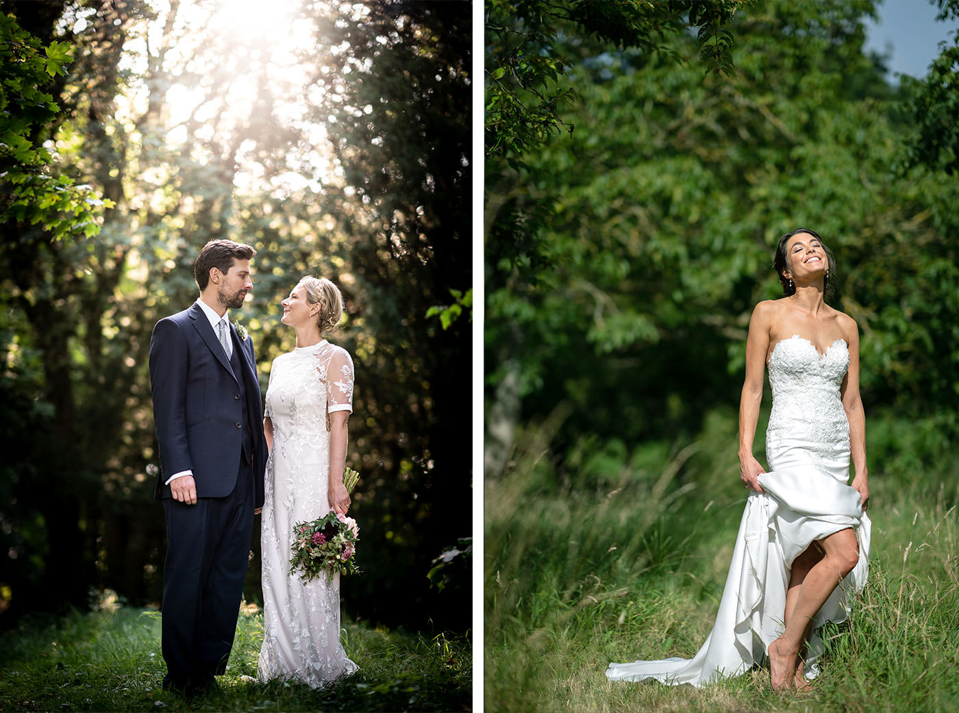 Sunny English Wedding Photos