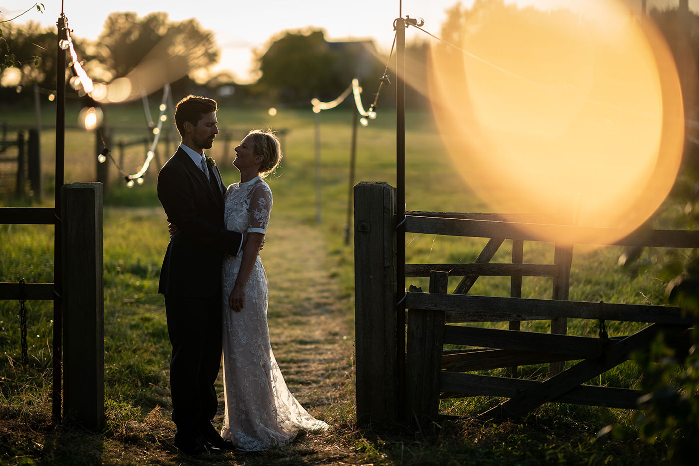 Magic Hour Wedding Portraits