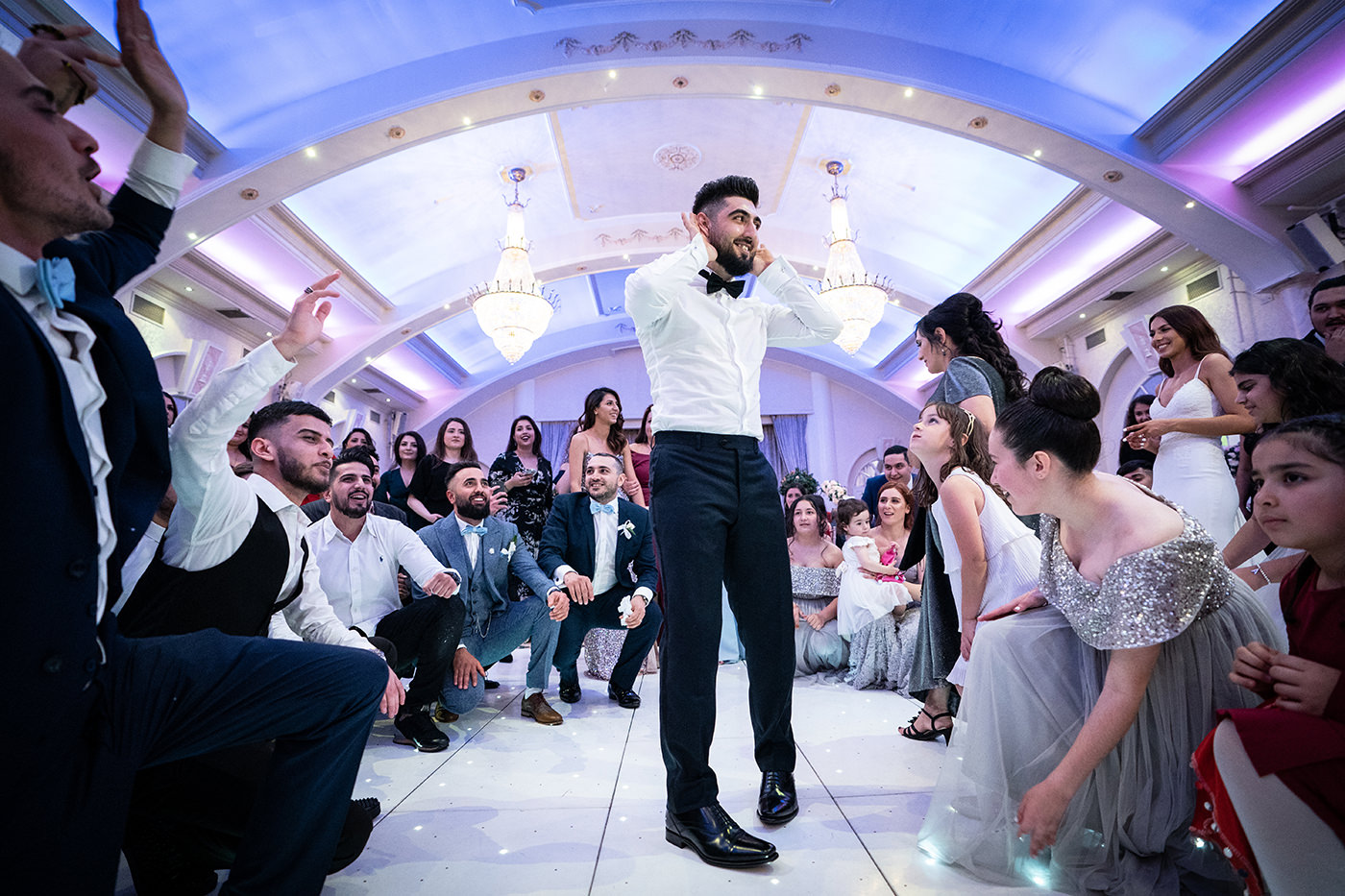 Turkish Wedding Groom at the Decorium London Reportage Photographer