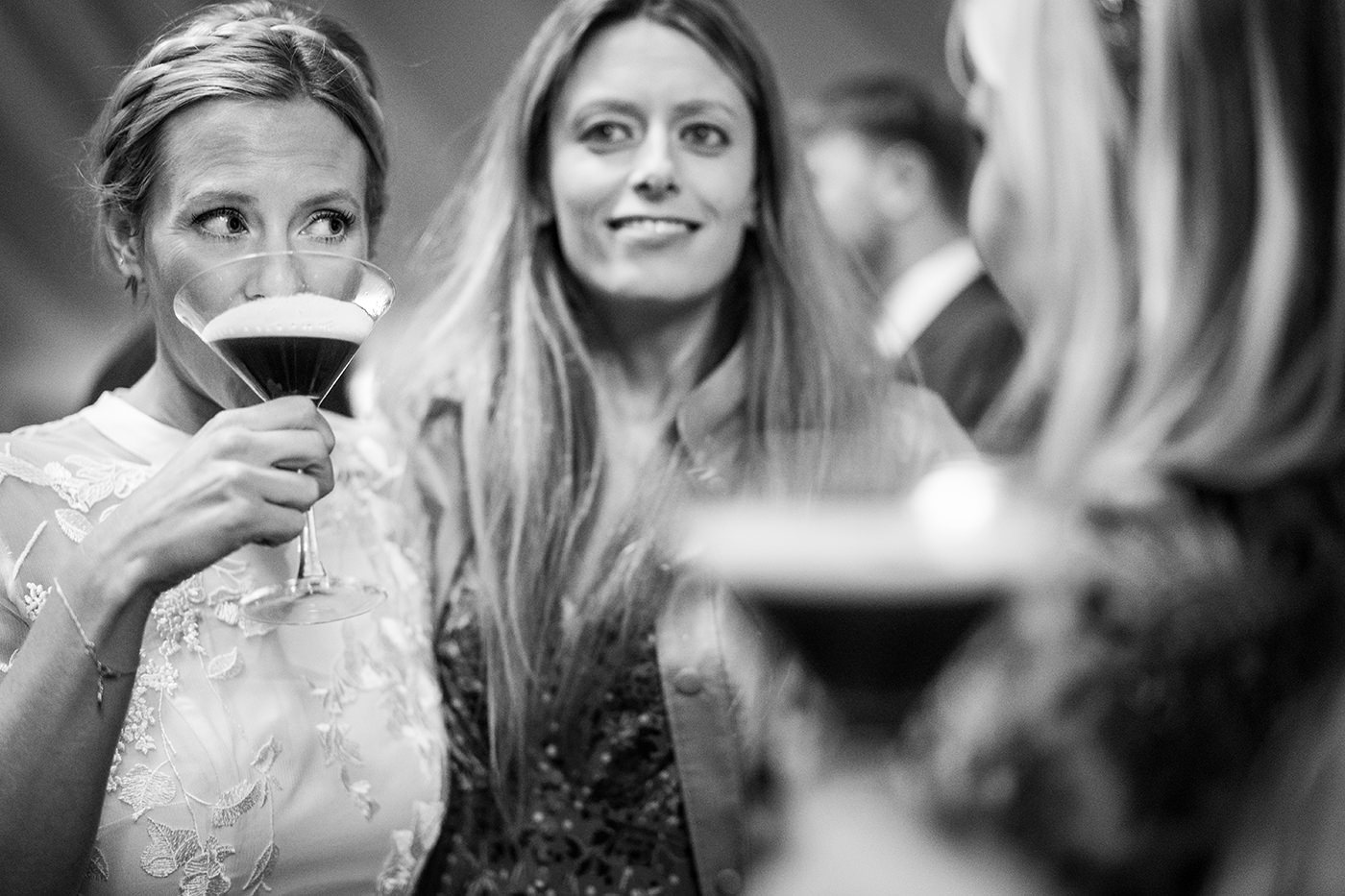 Espresso Martini Wedding Cocktail Reportage Photographer