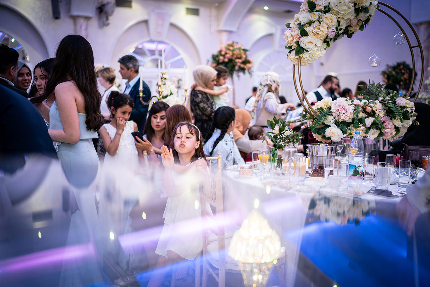 Flower Girls in The Decorium London