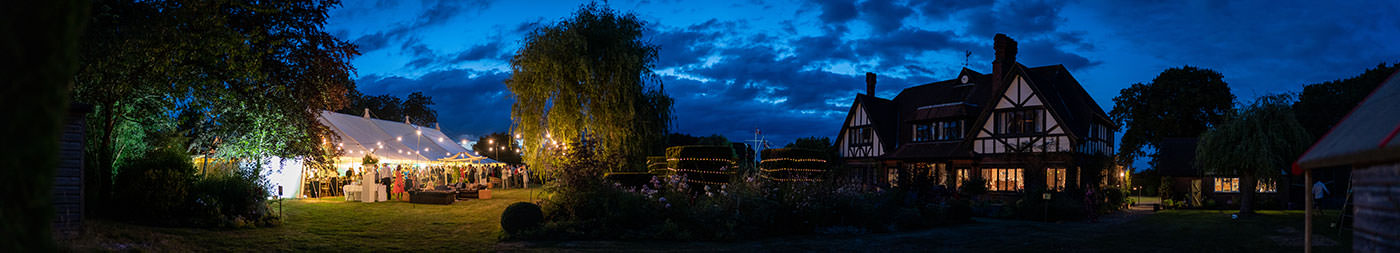 DP Marquees Wedding Panorama