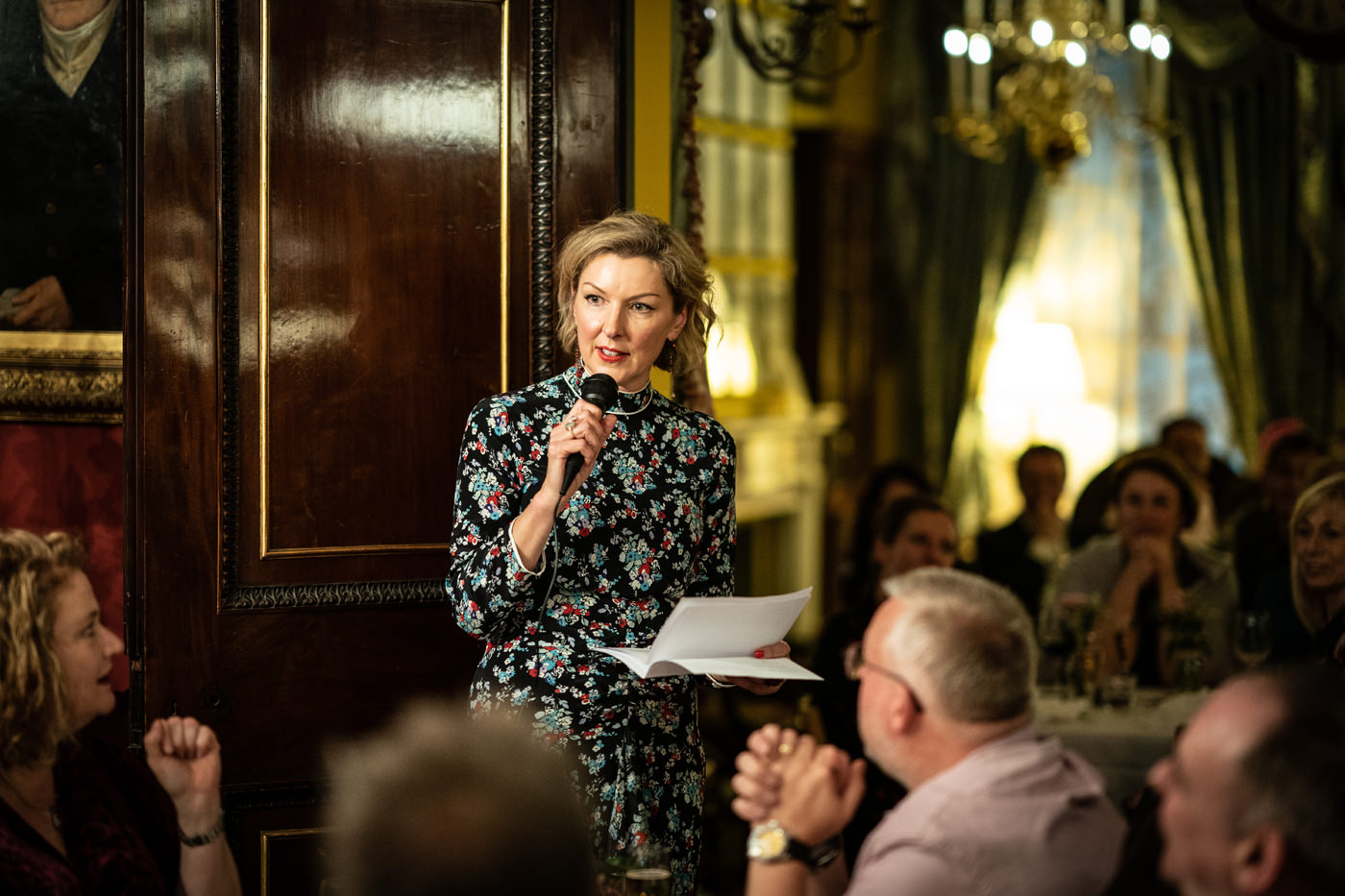 Matron of honour speech upstairs at Brunswick House in London