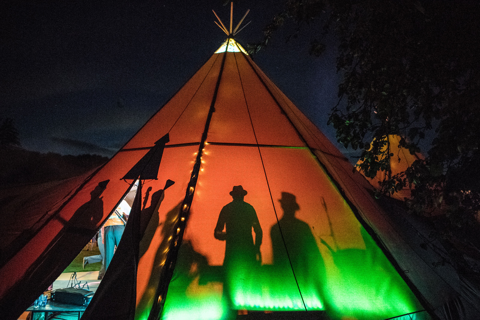 Tipi Marquee in Wiltshire