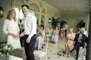 Hurlingham Club Wedding ceremony