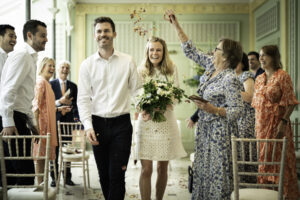 Hurlingham Club Wedding ceremony recessional