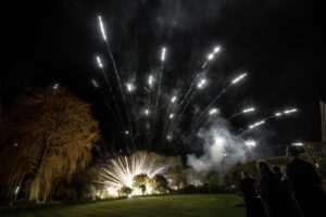 Dud Firework at Wedding in Oxfordshire